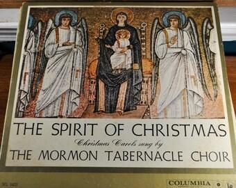 Vintage Record, The Spirit of Christmas, Mormon Tabernacle Choir