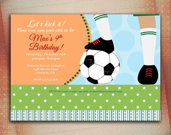 soccer birthday card  etsy hk, Birthday card