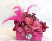 Jewelry Gift Box Fuchsia Gift Boxes, Wedding Favor  Box Christmas Gift Ideas Birthday Gift Gift Ideas Wedding Party Gifts Prewrapped Boxes