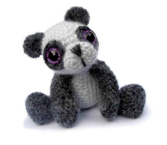 Amigurumi Panda Bear Pattern : Panda Bear Amigurumi Crochet Pattern PDF Instant Download