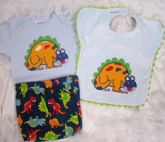Baby Boy Gift Gold : Items similar to dino the gold dinosaur on blue baby boy