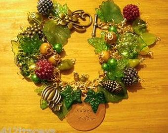 MABON Bracelet pagan wiccan Hedgewitch