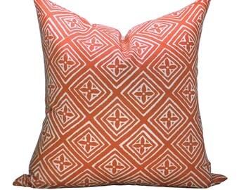 Fiorentina pillow cover in New Shrimp