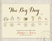 Wedding Timelines Custom Itinerary