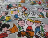 Peanuts Applique Fabric Die Cuts Supplies Trim  (22)