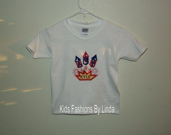 4th of July USA fireworks T-Shirt