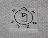Supernatural Angel Banishing Symbol Keychain/Lanyard/Phone Charm