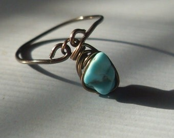 Teal Appeal Princess Ring Any Size