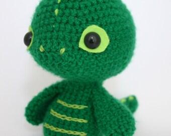Cute Crochet Dragon Pattern for beginners