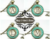 PERSONALIZED BRIDESMAID GIFTS - Custom Initial Necklace - Jewelry Sale - Necklace Sale - Letter Necklace - Handmade Gifts - Initial Gifts