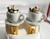 cufflinks, Hot Chocolate Mini