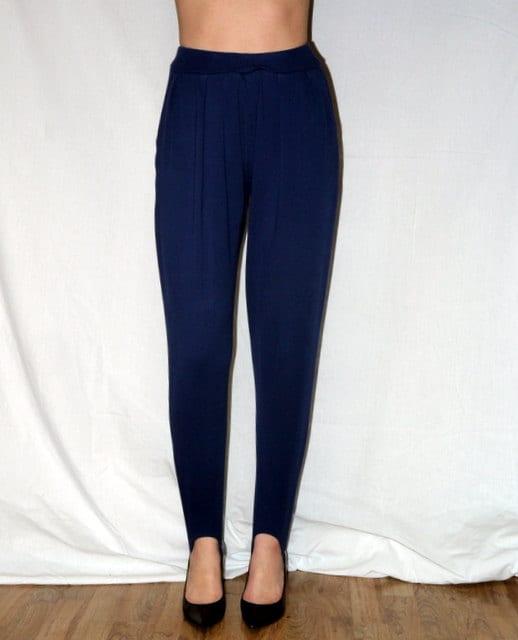 Vintage 80s 90s Stirrup Pants Stirrups Leggings High Waist