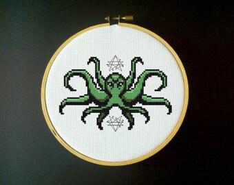 Cthulhu - Cross Stitch Pattern