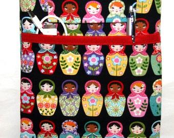 iPad Air Case, iPad mini Cover, iPad Sleeve, i Pad Case Bright Matryoshka doll iPad Custom Size