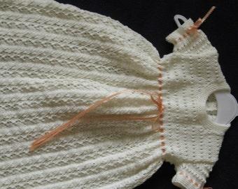 Ecru Lace Child's Dress