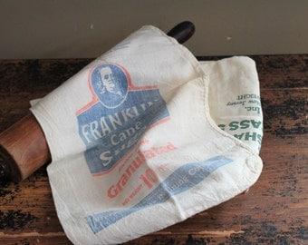 Antique Flour Bag