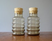 Vintage Holmegaard Primula Jars - Pair