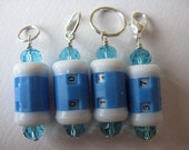 4Pcs Stitch Marker and Row Counter TWO in ONE 7mm, 9mm or 10mm