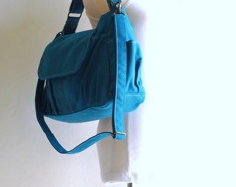 Mini Pico - Sale SALE SALE - Teal, Kid Bag/ Messenger Bag / Handbag / School Bag/ Travel Bag/ School Bag/ Women/ Gifts, 40% OFF