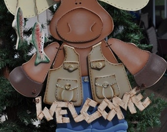 Moose with vest