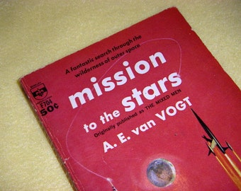 Mission to the Stars vintage book