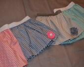 Chevron Skirt-choose your color