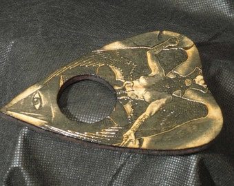 Lord Mocks Baphomet Planchette (Spirit Pointer)