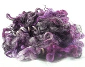 hand dyed Gotland Wool Locks Wool Fleece - 3 ounces