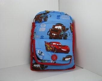 Team McQueen In Blue Preschool Backpack