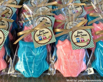 25 OWL SOAPS {Favors} - Owl Baby Shower Favor, Owl Birthday Favor, Hoot shower, First BIrthday Whooos 1, Soap Favor