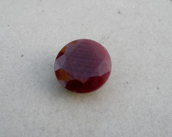 Ruby Round Natural Gem 15mm