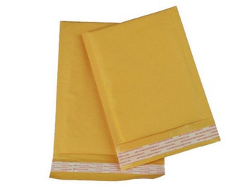 30 pieces of KB-000 4x8 Kraft Bubble Mailer Padded Mailing Enveloper Bag Shipping Supply