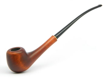 "CHURCHWARDEN Long Ladies Tobacco smoking pipe ""Lady Elegance""  plus Gift Pouch"