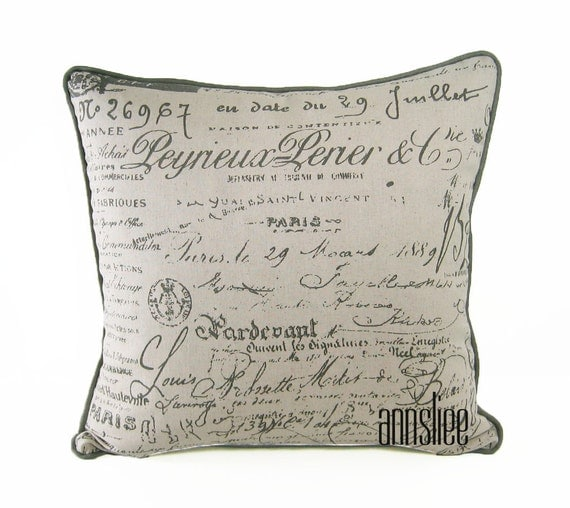 Items similar to TAUPE ACCENT Pillow Cover - 20