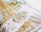 """Crystal Applique For Bridal Gown Accent Embellishment 3"""""""