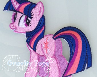 My Little Pony: Friendship is Magic TWILIGHT SPARKLE Iron on Embroidery Patch Applique MLPFIM