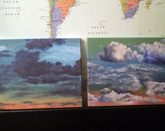 """Cloud Prints, set of 2, 12""""x16"""" Just 25 dollars for BOTH"""