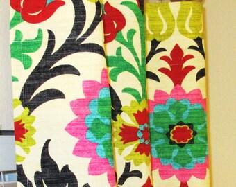 Waverly Santa Maria Desert Flower Curtains 25 x 63, 84, 90, 96, 108, 120 Drapes, Drapery Panels Sale
