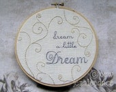 Embroidery Pattern PDF  Sweet Dreams Spirals