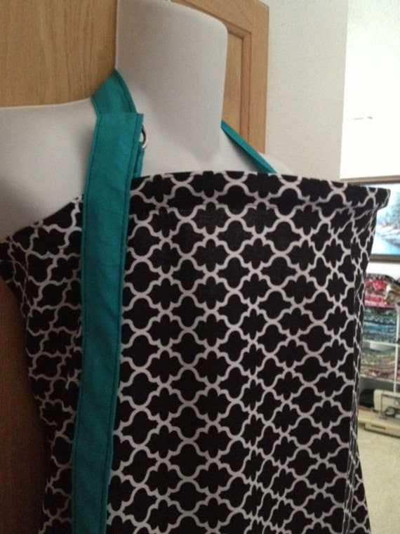 Breastfeeding nursing cover like hooter hider pick from 5fabrics  XL really nice coverage