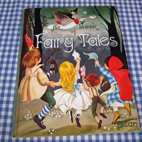 dean's a book of fairy tales, vintage 1977 children's book