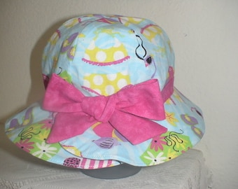 Trip To The Beach Sun Hat For Infants And Toddlers