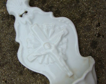 Antique Holy Water Font - France XIX 19th Century