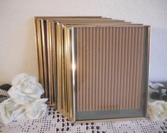 Vintage Gold Frame 8 x 10 Rustic Hollywood Regency Paris Shabby Chic Wedding Decoration Home Decor Gift For Her Metal