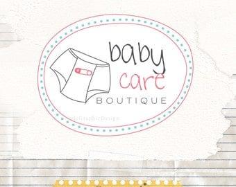 Baby boutique logo design - Business logo design and watermark