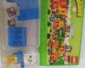 Vintage Fabuland Lego 3786 Buzzy Bulldog Mailman Figure Mint in Box