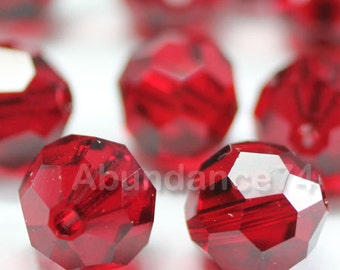 Swarovski Elements Crystal Beads 5000 Round Ball Beads SIAM - Available in 4mm ,6mm ,8mm and 10mm