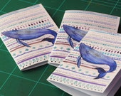 A6 Whale Notebook