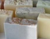 Save on choice of three olive oil soaps - Karol's Handmade Soaps - vegan soaps - gift set