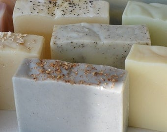 Save on choice of three olive oil soaps - Karol's Handmade Soaps - vegan soaps - gift set